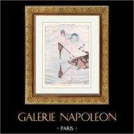 Pariser Leben - La Vie Parisienne - Goldene Zwanziger - Art Déco - Erotik - Fischen - La Pêche Miraculeuse
