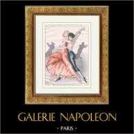 La Vida Parisina - La Vie Parisienne - Años Locos - Art Déco - Erotismo - Danza - A Quoi Pensent les Jeunes Filles