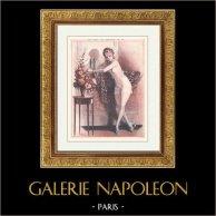 La vie Parisienne - życie Pariserskie - Złote Dwudziestki - art Deco - Erotyzm - na Peut se Tromper de ça!