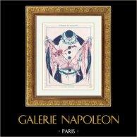 La Vie Parisienne - The Parisian Life - Golden Twenties - Art Deco - Eroticism - Allégorie de Mardi-Gras