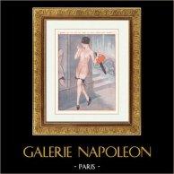 La vie Parisienne - życie Pariserskie - Złote Dwudziestki - art Deco - Erotyka - Quand na N'a pas de Tete il Faut Avoir des Jambes