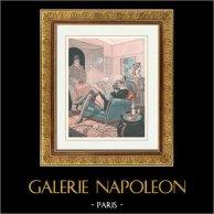La Vie Parisienne - The Parisian Life - Golden Twenties - Art Deco - Eroticism - La Rentrée - Chaque Saison a Ses Plaisirs
