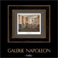Interior Architecture - Hearth in a Salon (Paul M. Stosseck)