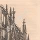 DÉTAILS 04 | Vue de Rouen - Eglise Abbatiale Saint Maclou (France)
