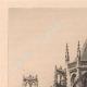 DÉTAILS 01 | Vue de Rouen - Abside de l'Eglise Saint Vincent (France)