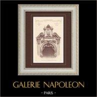 Exposition Universelle 1900 - Paris - Pavillon du Pérou (F. Gaillard - Duvelle)