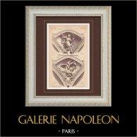Angle - Exposition Universelle 1889 - Paris - Pavillon de l'Argentine - Industrie - Agriculture (Gauthier)