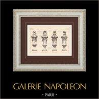 Vases d'amortissement - Palace Hotel - Champs Elysées - Paris (G. Chedanne)
