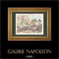 Spanish War of Independence - Napoleon I - Montserrat Storming - Marshal Suchet (1811)