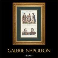 Spanish Costume - Spanish Fashion - Valence - Portrait - Beauvais (1772-1830) - Antoine Gruyer (1774-1822)