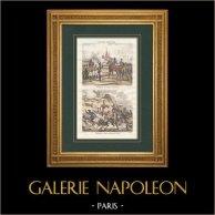 Guerre d'Indépendance Espagnole - Napoléon Bonaparte et le Sergent Bianchini à Tarragone - Mort du Général Salm