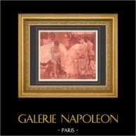 Opéra Garnier - Palais Garnier - Danzatrici (Fernand Pelez)