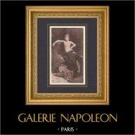 Salome - Östlich Tänzerin (Edmond-Charles Daux)