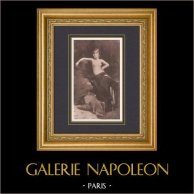 Salome - Oriental Dancer (Edmond-Charles Daux)