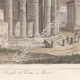 DÉTAILS 04   Italie Antique - Empire Romain - Temple de Vesta - Forum Romain - Forum Romanum (Rome)