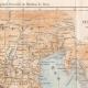 DÉTAILS 02 | Italie Antique - Ancienne carte - Partie Septentrionale