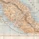 DÉTAILS 04 | Italie Antique - Ancienne carte - Partie Septentrionale