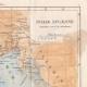 DÉTAILS 05 | Italie Antique - Ancienne carte - Partie Septentrionale