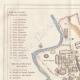 DÉTAILS 01   Italie Antique - Ancienne carte - Rome sous le Règne de Aurelien