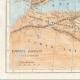 DÉTAILS 03 | Ancienne carte - Empire Romain en 14 après Jésus-Christ - Mort d'Auguste, Empereur romain
