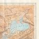 DÉTAILS 05 | Ancienne carte - Empire Romain en 14 après Jésus-Christ - Mort d'Auguste, Empereur romain