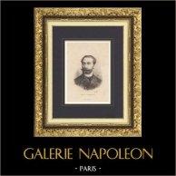 Retrato de Sadi Carnot - Presidente da França (1887-1894)