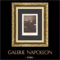Portrait of Sadi Carnot - Fourth President of the Third French Republic (1887-1894)