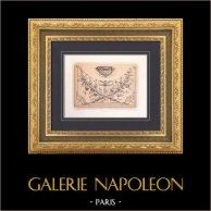 Domkirche - Kathedrale von Paris (Frankreich) - Dekoration - Platte
