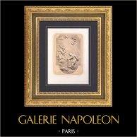 Cathédrale Notre-Dame de Paris (France) - Bois Sculpté - L'Annonciation - Archange Gabriel