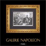 Napoléon Bonaparte - Siège de Toulon - Attaque de la Redoute du Fort Faron - Guerres de la Révolution Française (Décembre 1793)