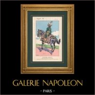 Napoleon I and his Staff (V. Huen) - Joachim Murat