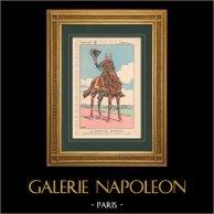 Napoleon I and his Staff (V. Huen) - Marshal Bessières