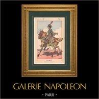 Napoleon I and his Staff (V. Huen) - Duroc