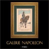 Napoleon I and his Staff (V. Huen) - General Jean Joseph Ange d'Hautpoul