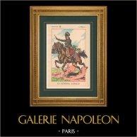 Napoleon I and his Staff (V. Huen) - General Lasalle