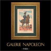 Napoleon I and his Staff (V. Huen) - General Antoine Drouot