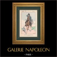 Napoleon I and his Staff (V. Huen) - Officer of the Emperor