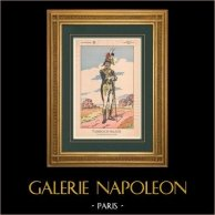 Napoleon I and his Staff (V. Huen) - Drum major
