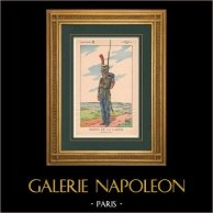 Napoleon I and his Staff (V. Huen) - Sailor of the Imperial Guard