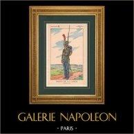 Napoleon I and his Staff (V. Huen) - Sailor of the Imperial Guard
