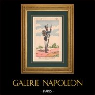 Napoleon I and his Staff (V. Huen) - Tirailleur-Chasseur of the Imperial Guard