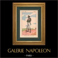 Napoleon I and his Staff (V. Huen) - Pupil of the Imperial Guard