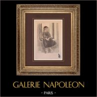 Retrato de una mujer sentada (Fernand Piet)