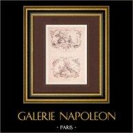 Französische malerei - Le Présent Champêtre - Le Duo Champêtre - Ländlich (Watteau)