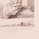 DÉTAILS 08 | Peinture française - Bonze des Tartares - Moghol - Femme de Lassa - Bhoutan (Watteau)