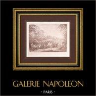 Peinture française - Retour de campagne (Watteau)