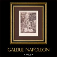 Französische malerei - Watteau und sein Freund de Jullienne (Watteau)