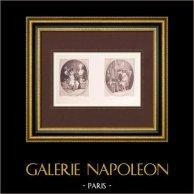 French painting - La Sculpture - La Peinture - Sculpture - Painting (Watteau)