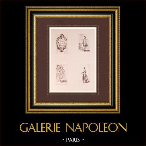 Malarstwo Francuskie - Komiksy - Kostiumy (Watteau) |