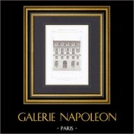 Hotel in Paris - Architect M. Sanson (France)